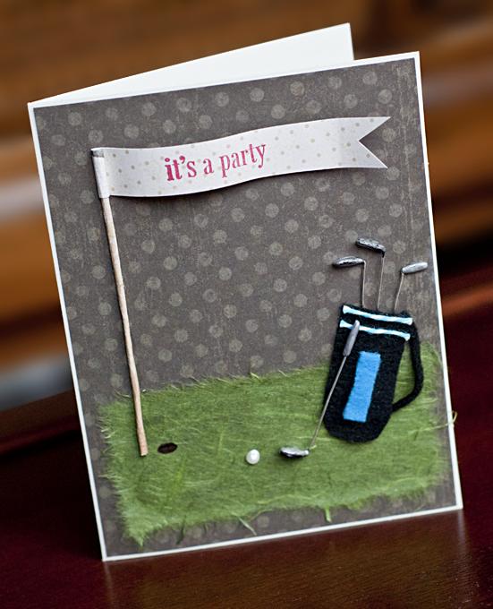 Golf Fanatic Birthday Card