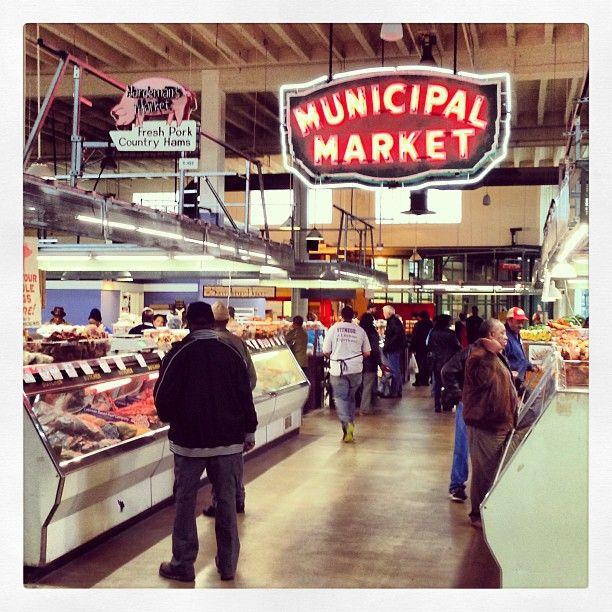 Sweet Auburn Curb Market In Atlanta Ga An Atlanta Institution In