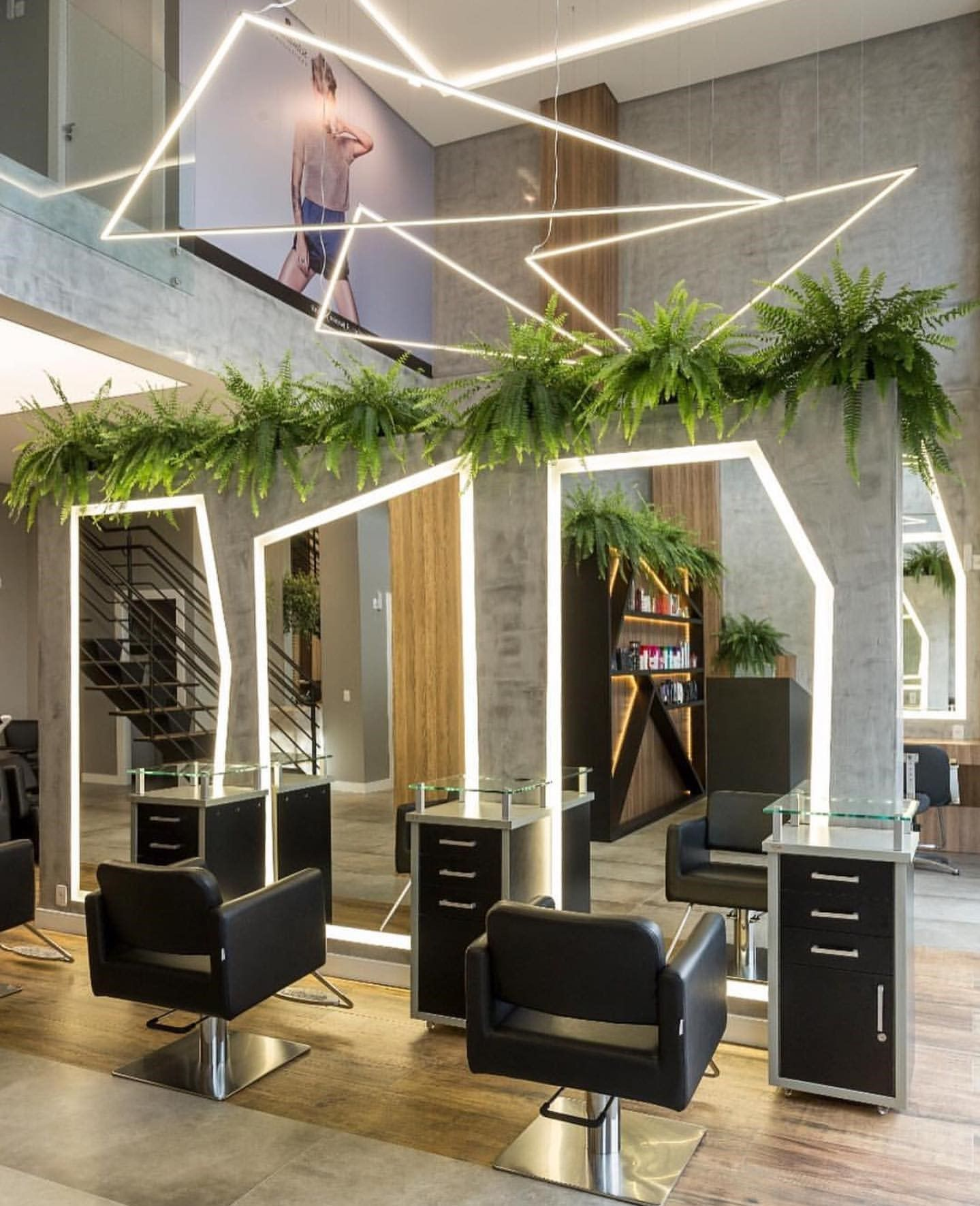 Tanning Salon Interior Design Hair Salon Interior Design Pinterest Spa And Beauty Salon Inte In 2020 Salon Interior Design Salon Interior Nail Salon Interior Design
