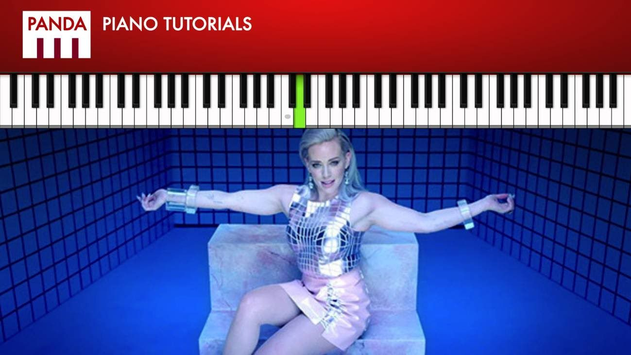 """Hilary Duff - """"Sparks"""" (How To Play Piano Tutorial Chords ..."""
