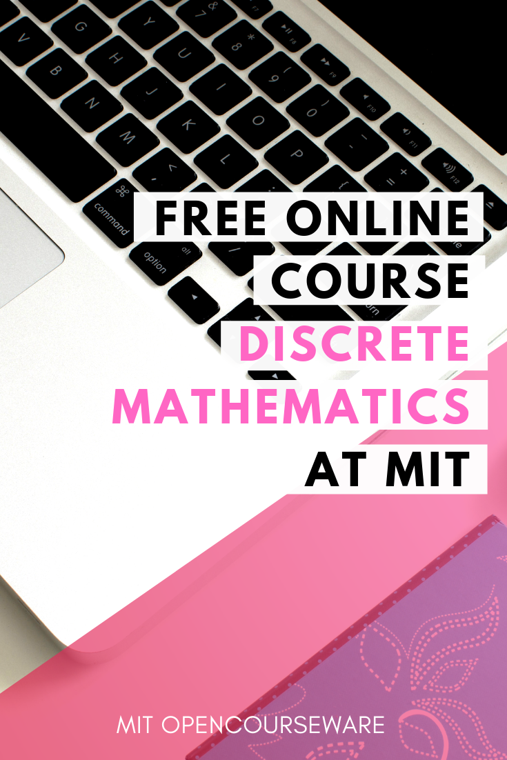 Discrete Mathematics Free Course Materials From Mit Online