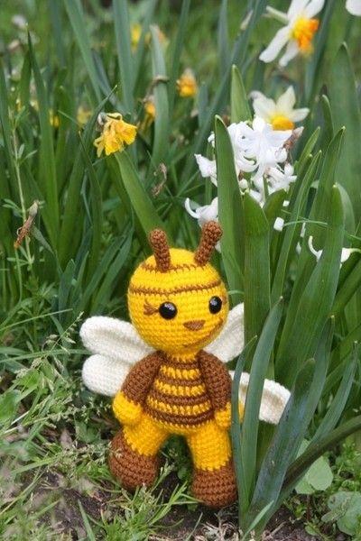 Biene Häkeln Anleitung Amigurumi Biene Diy Häkeln Crochet