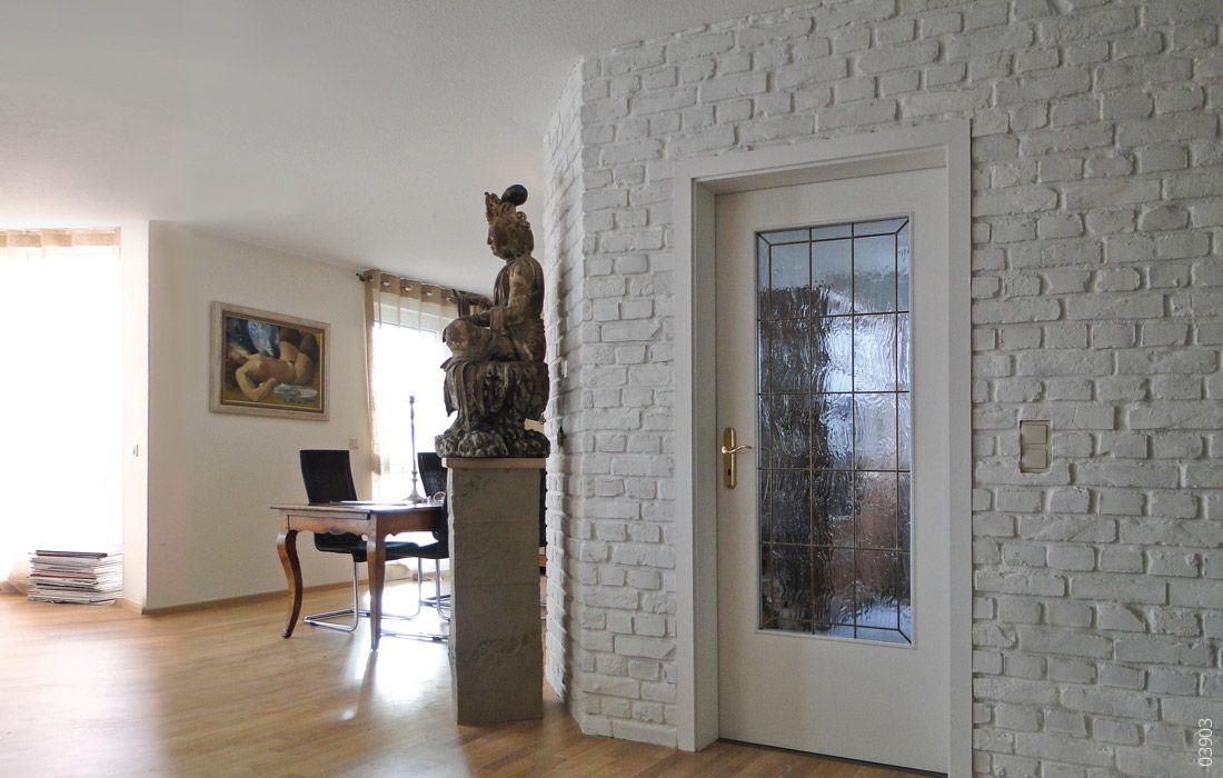 Wandgestaltung Mit Backstein Ladrillo Wandgestaltung Wohnzimmer Wandgestaltung Wande