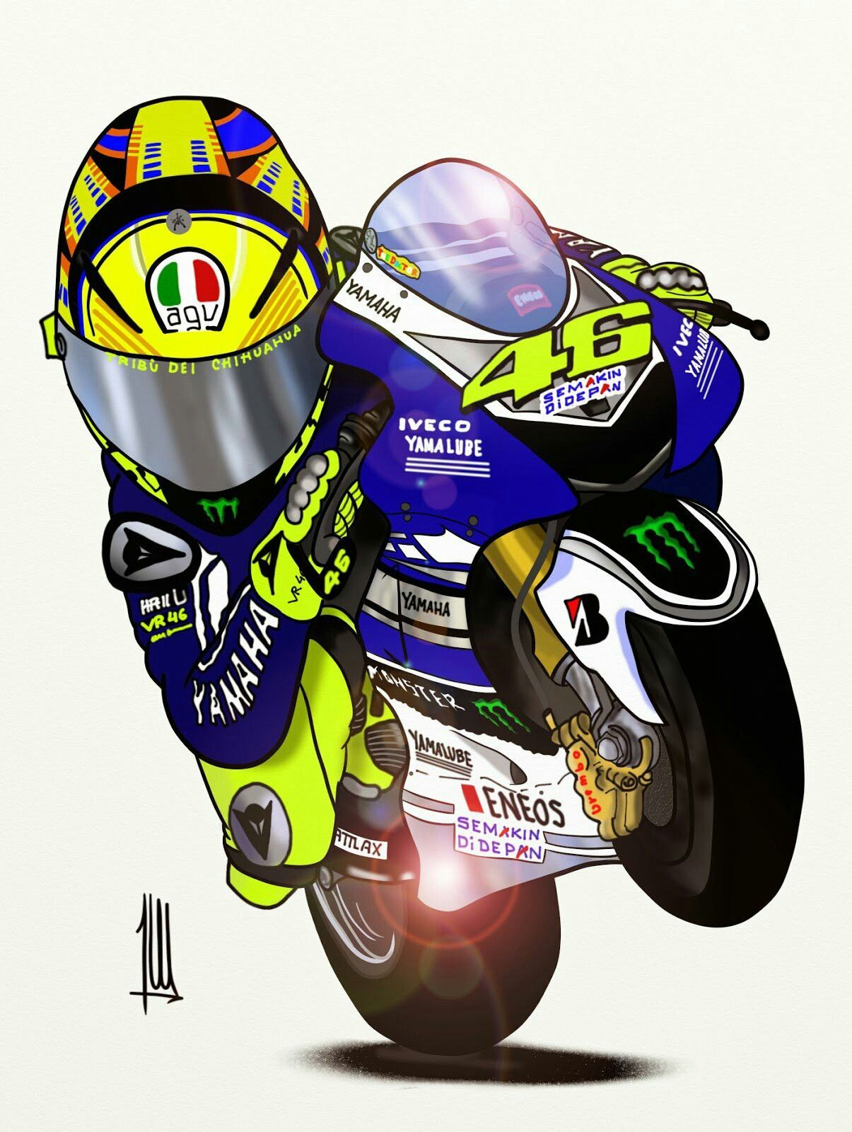 Vr 46 Wallpaper Cartoon Vr 46 Wallpaper In 2020 Vr46 Valentino Rossi Valentino Rossi Foto Valentino Rossi