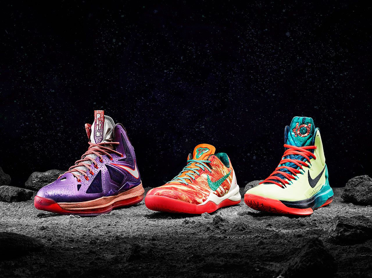 NBA all-stars LeBron James, Kobe Bryant and Kevin Durant received ...