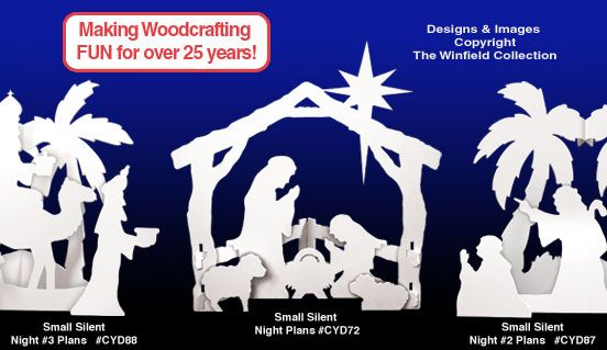 Nativity Scene Pattern Woodworking Plans