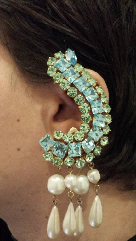 Vintage Christian Lacroix Couture Earring image 2