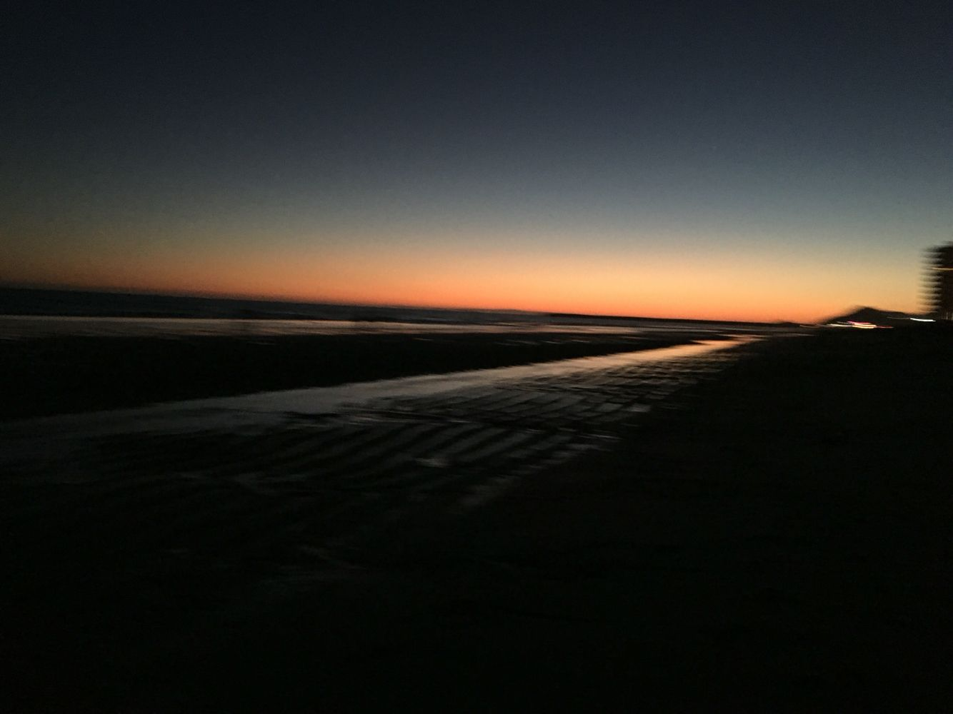 Sunsets at the beach