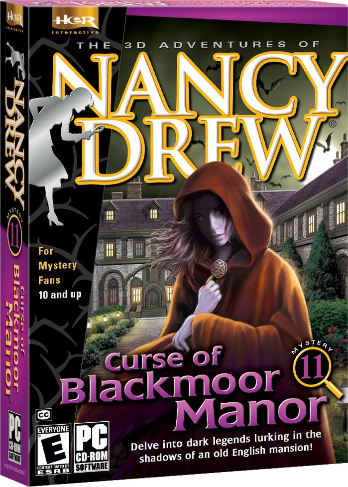 Nancy Drew Curse of Blackmoor Manor computer game. Delve