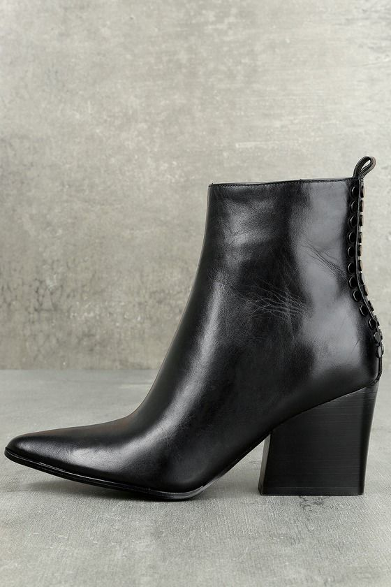 cfda415635b Felix Black Leather Ankle Booties   Shoes, shoes and more shoes ...
