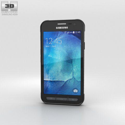 Samsung Galaxy Xcover 3 Gray 3d Model Max C4d Obj 3ds Fbx Lwo Stl 3dexport Com By Humster3d Samsung Galaxy Galaxy Samsung