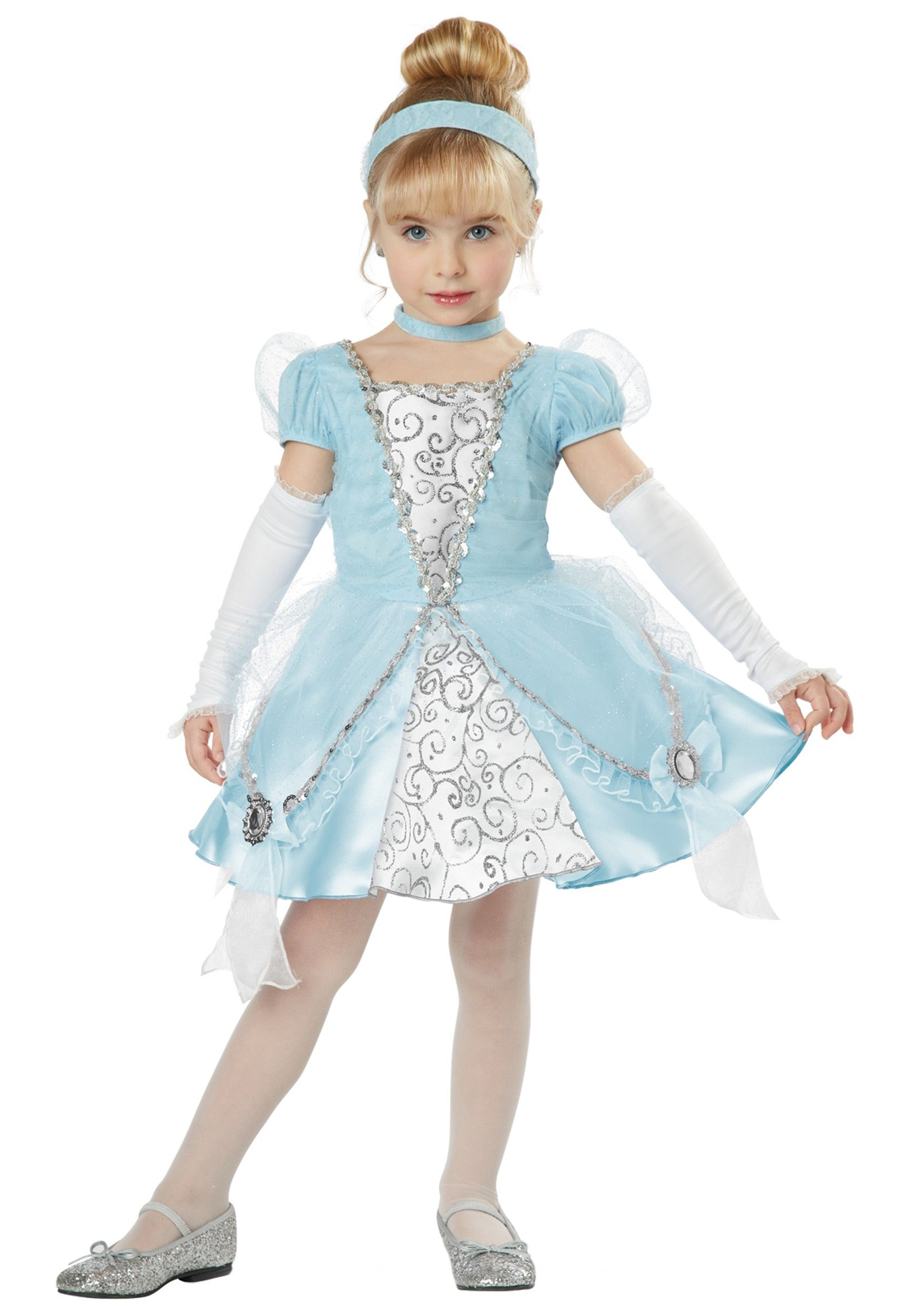 deluxe toddler cinderella costume - Halloween Princess Costumes For Toddlers
