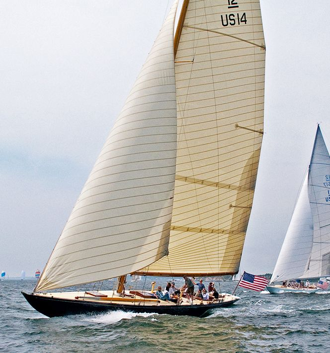 Click to enlarge image of Sparkman & Stephens 12 Metre Sloop 1938 boat for sale