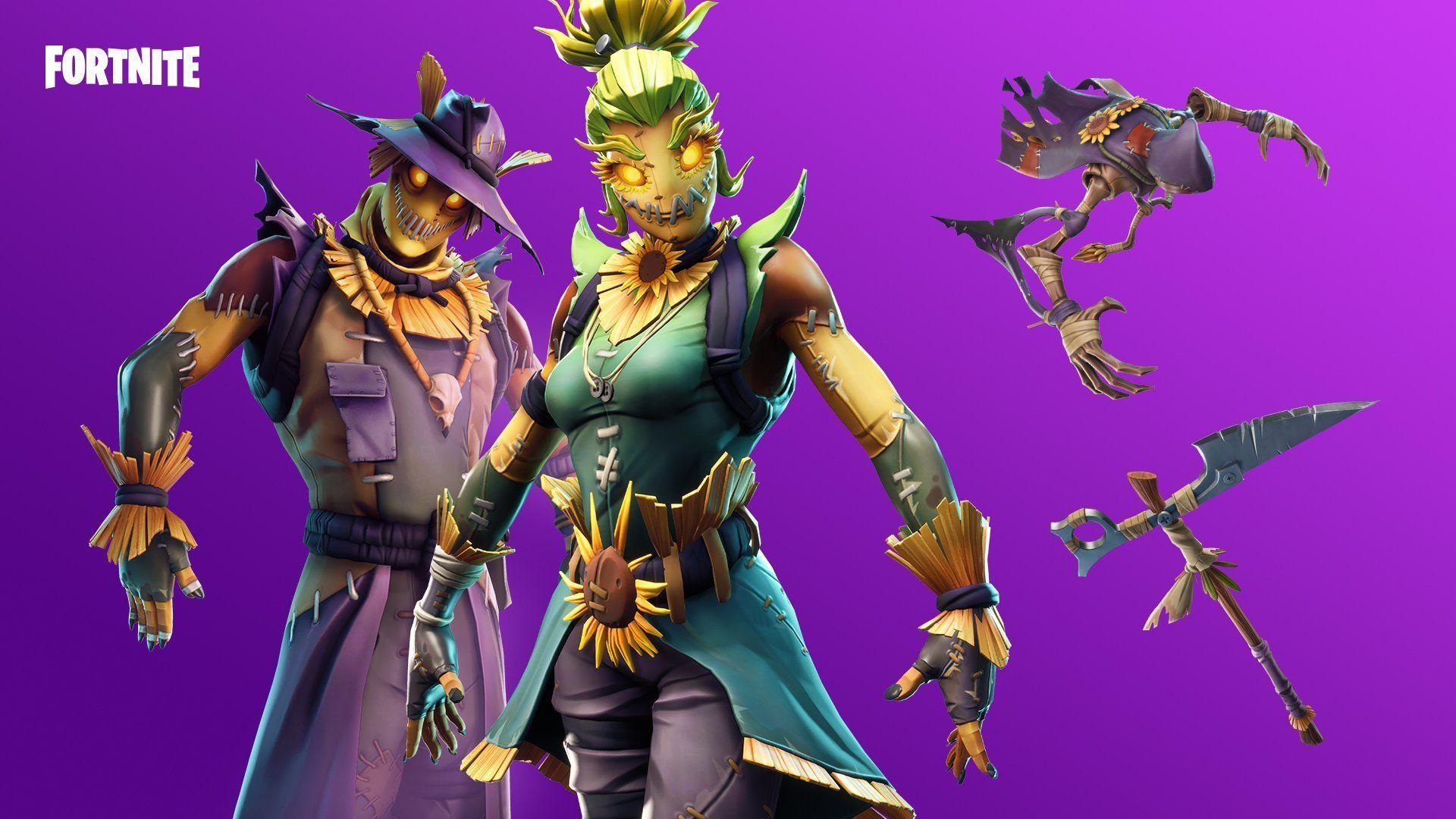 Fortnite desktop wallpaper hd background skins outfit