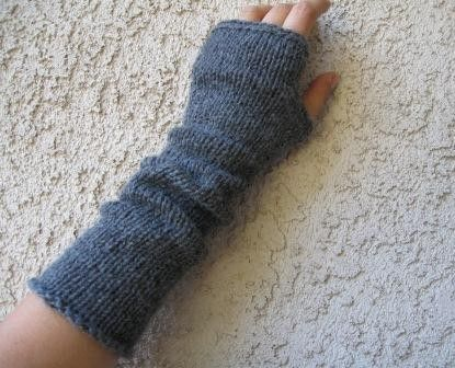 KNITTING PATTERN FOR FINGERLESS MITTENS | 1000 Free Patterns ...