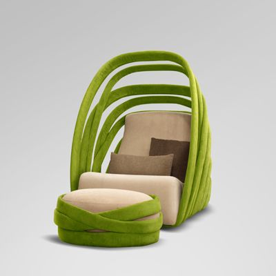 Excellent Kanom Lounge Chair Inspired By The Banana Leaf Products Beatyapartments Chair Design Images Beatyapartmentscom