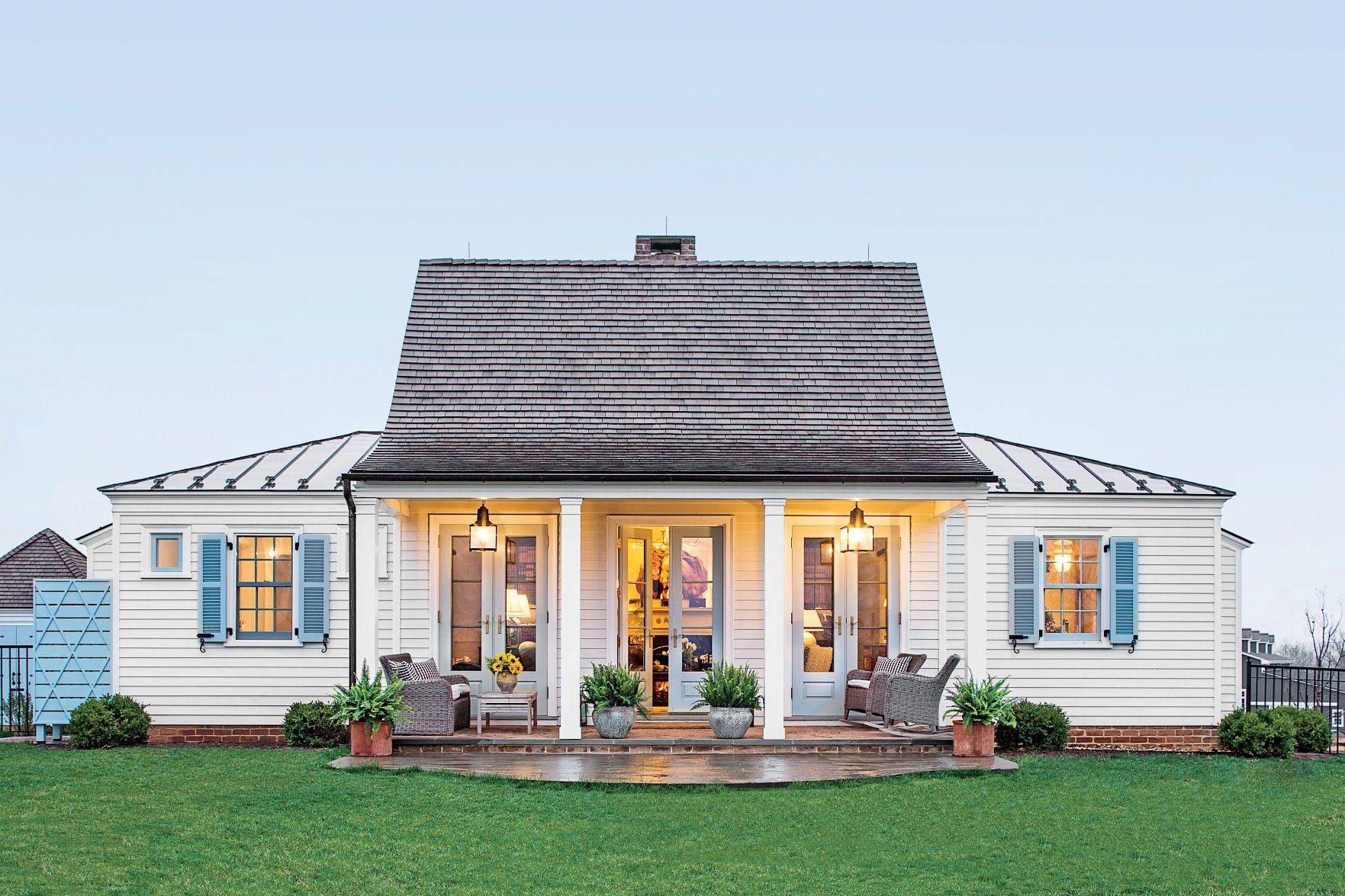 Genteel Cottage Exterior House Designthe