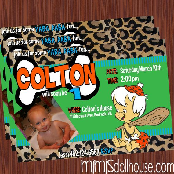 0cffb89c97c82d8ffb6ea758ec5796d6 bam bam invitation bamm bamm flintstone birthday invitation pdf,Flintstones Birthday Invitations