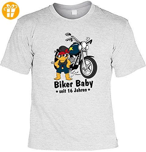 fun geburtstags spa comic shirt biker baby seit 16 jahren geniales geschenk zum 16. Black Bedroom Furniture Sets. Home Design Ideas