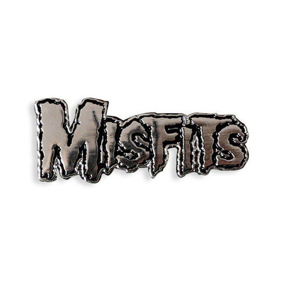 MISFITS PIZZA FIEND EMBROIDERED IRON-ON PATCH BY YESTERDAYS CO