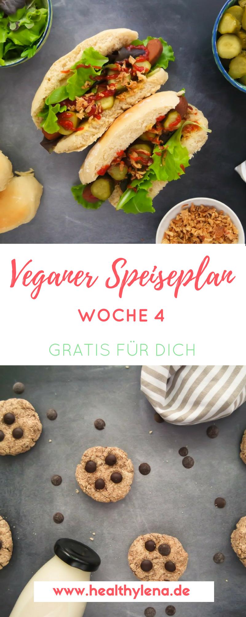 Mein Veganer Speiseplan Gratis Fur Dich Woche 4 Rezepte Vegane Vegane Rezepte