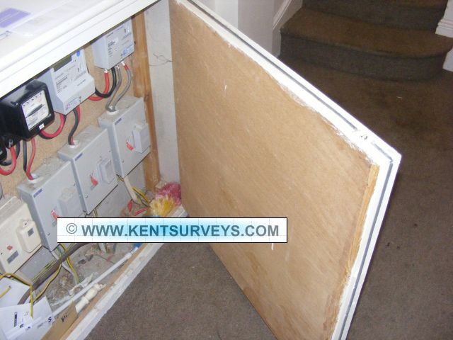 Asbestos Insulation Board Aib Fire Protection In Domestic Electric Cupboard Insulation Board Fire Protection Asbestos