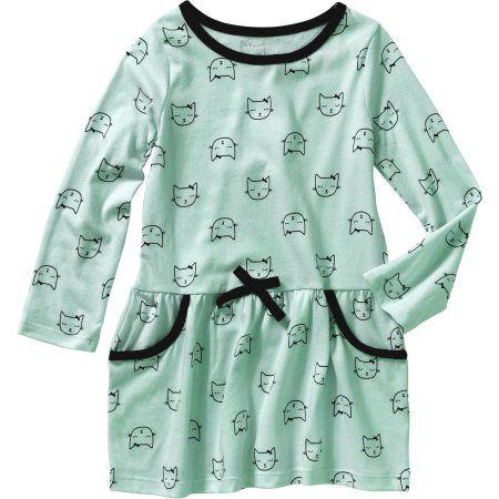 2cd9ff302e29 Healthtex Baby Toddler Girl Long Sleeve Knit Dress