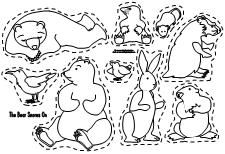 Making Learning Fun Free Early Learning Printables Bear Snores