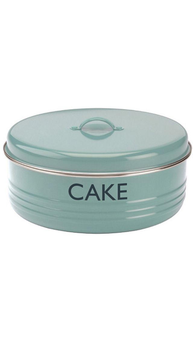 Cake Tim Vintage Kitchen Tin Tub Cake Storage