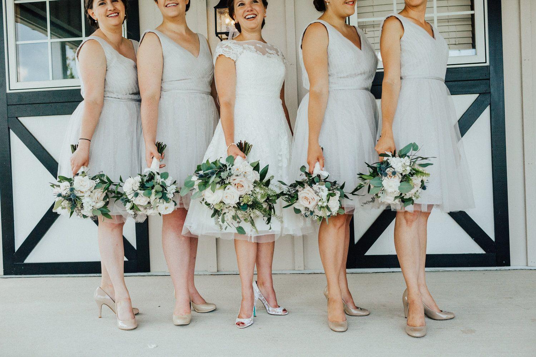 Summer Wedding At Shadow Creek Lark Summer Weddings Bridesmaids Short Bridesmaid Dresses Wedding Dresses [ 1000 x 1500 Pixel ]