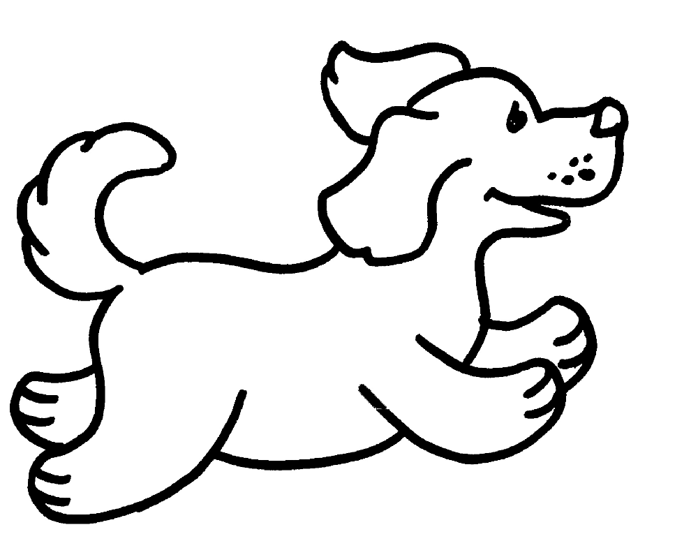 Dog Coloring Pages | K5 Worksheets in 2020 | Dog coloring ...