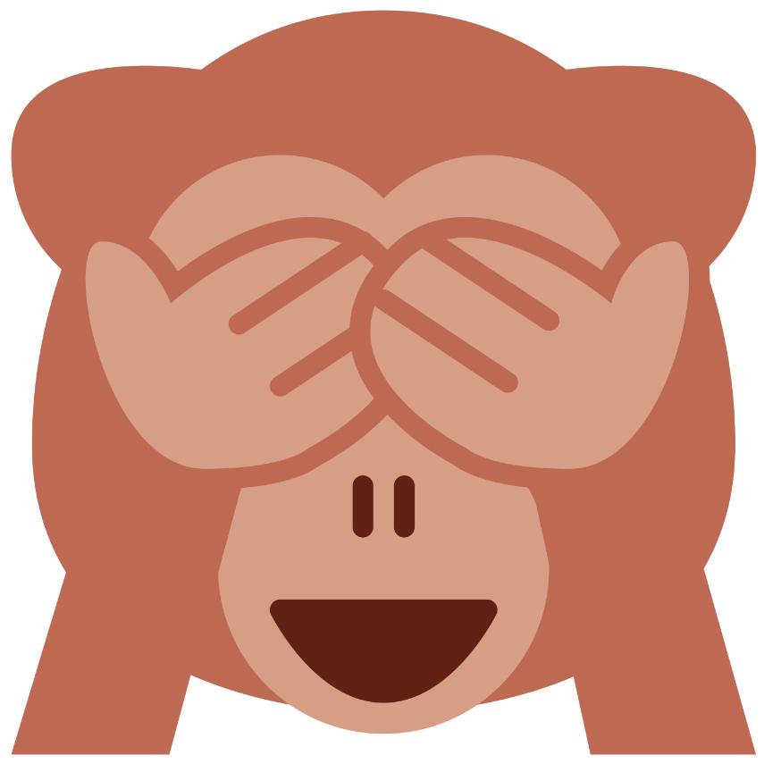 See No Evil Http Paperzip Co Uk Classroom Icons Large Emoji Images People Emoji Ipad Mini Monkey Emoji