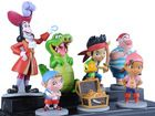 Jake and The Never Land Neverland Pirates Play 7pcs Set(China (Mainland))