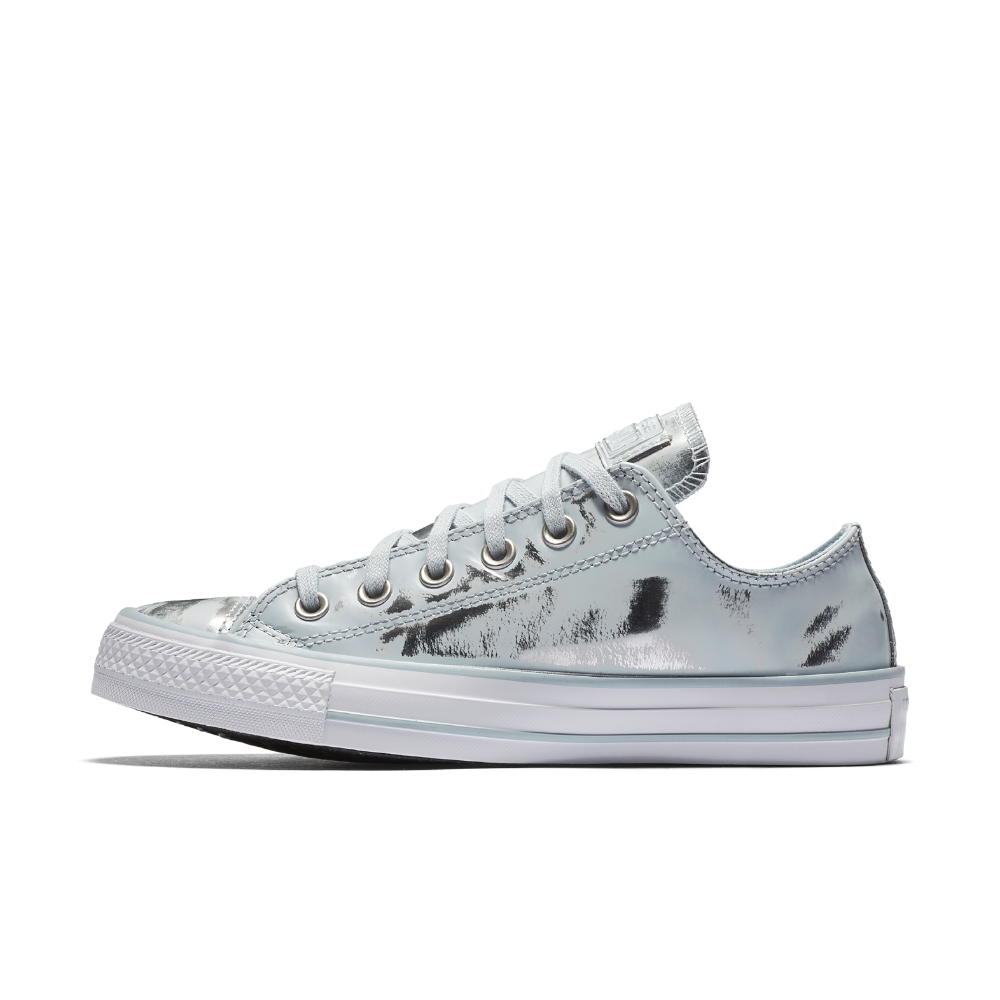 e622871eb128be Converse Chuck Taylor All Star Brush Off Leather Low Top Women s Shoe Size