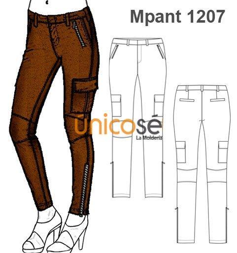 Moldes Unicose Pantalones Cargo Mujer Tipo De Pantalones Pantalones Dibujo