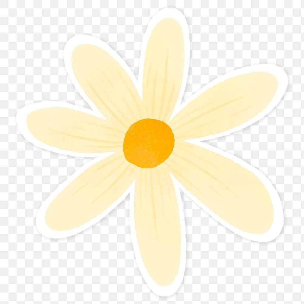 Pale Yellow Flower Sticker Transparent Png Premium Image By Rawpixel Com Katie Transparent Stickers Yellow Aesthetic Pastel Yellow Flowers