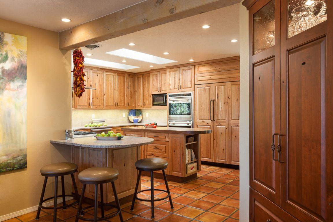 Knotty Cherry Kitchen Albuquerque Nm Kitchen Inspiration Design Kitchen Design Design