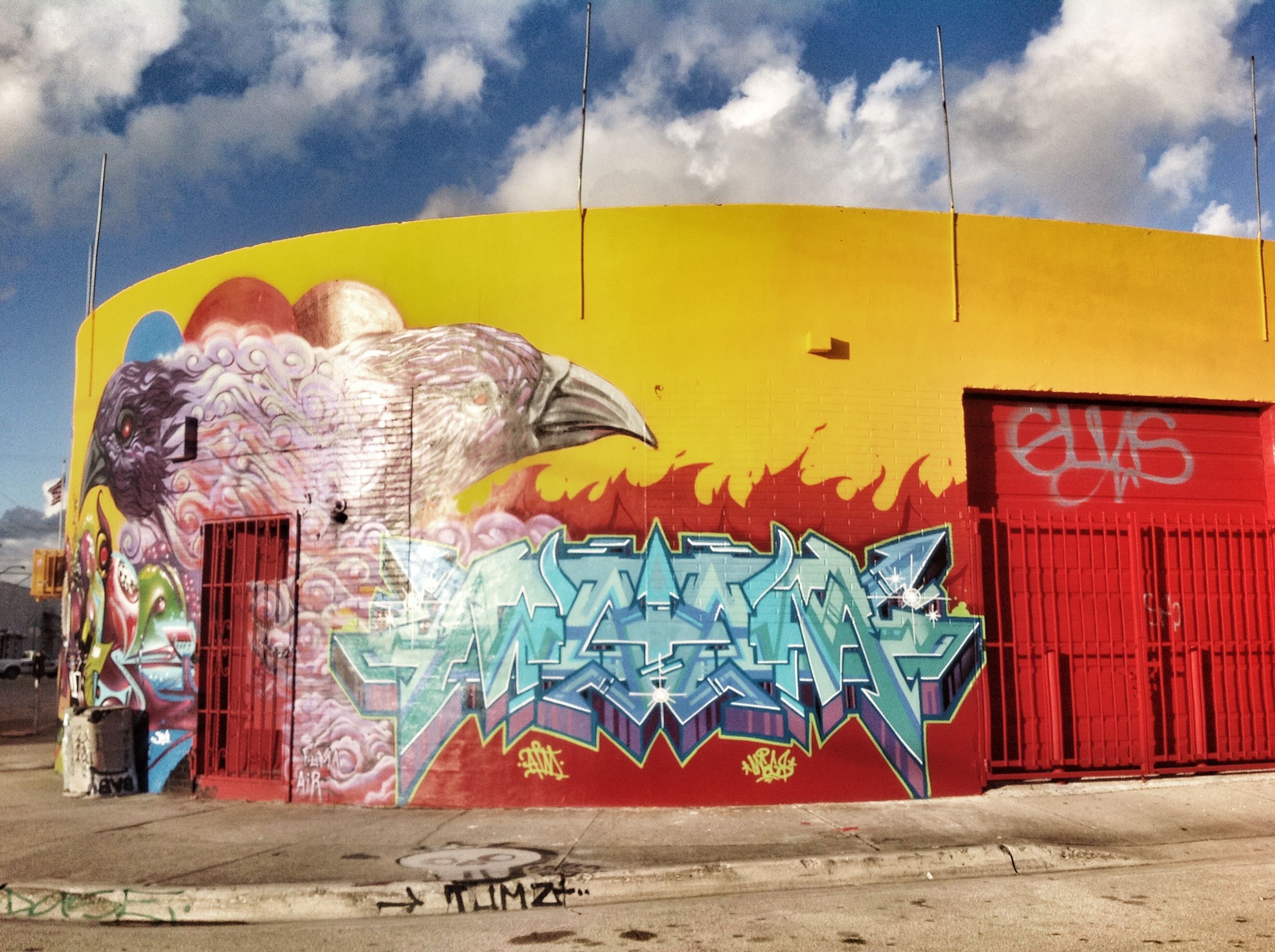 Wall art in Wynwood | Roots | Pinterest | Miami