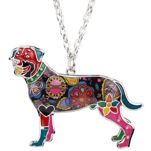 Enamel Rottweiler Dog Pendant   #doggy #ilovemycat #catstagram #kittens #puppiesofinstagram #doglovers #lovecats #animallovers #dogsitting #cats