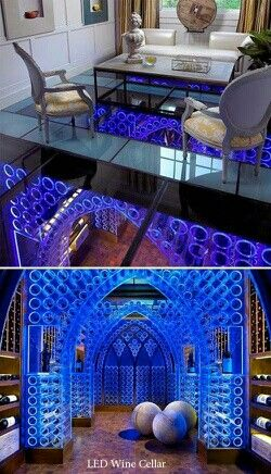 My wine cellar when i win the lottery