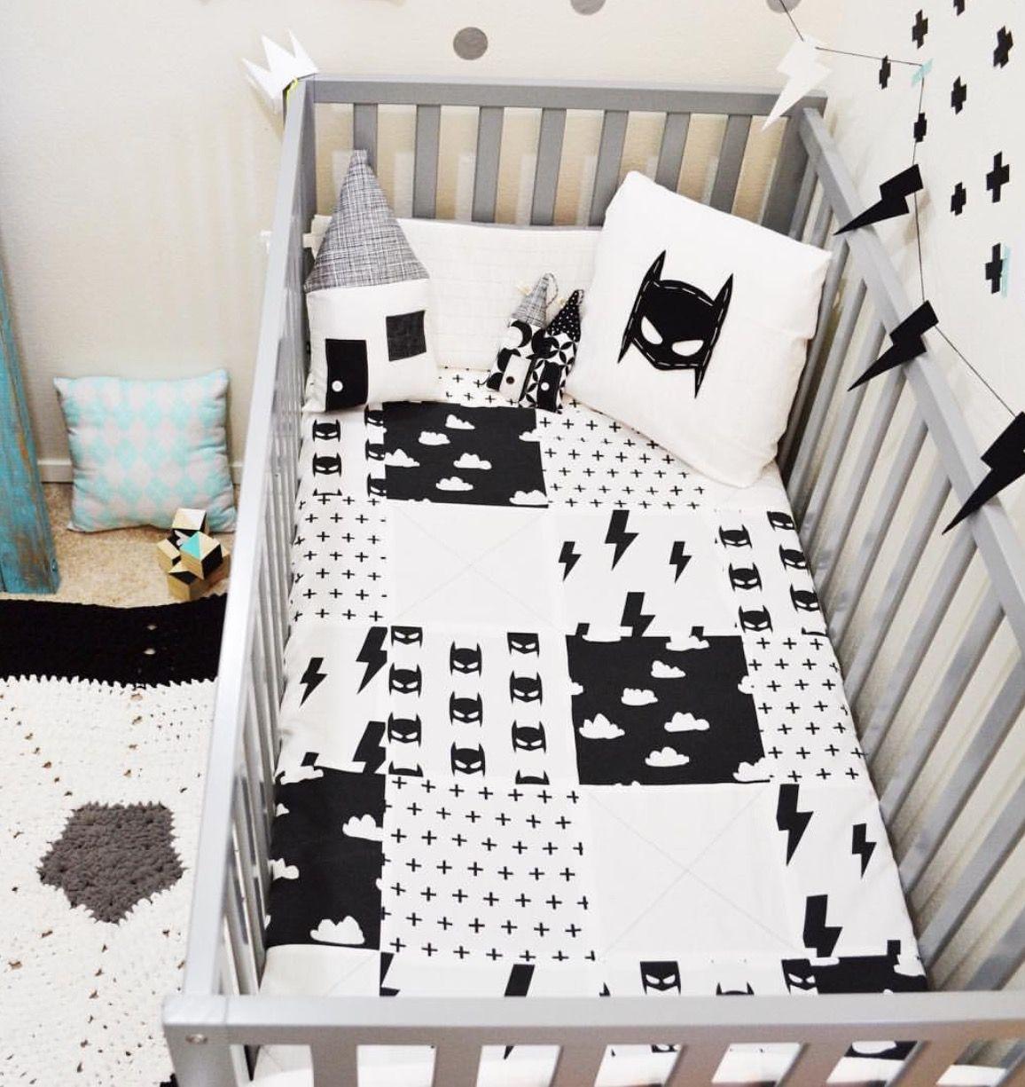 Batman Bed Set Little Boys Room Nursery Baby Room Baby Room