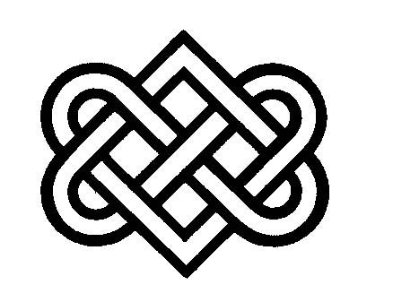 buddhist artwork line art knot symbol 5 vectors pinterest buddhists symbols and tattoo. Black Bedroom Furniture Sets. Home Design Ideas
