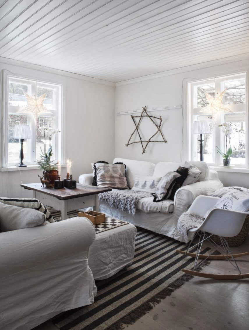 Joulukoti Ruotsista - A Beautiful Home in Sweden       Expressen                                                   Kuvat: Carina Olander