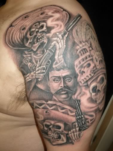 Mexican Prison Tattoos | Mexican Best Tattoos Design For ...