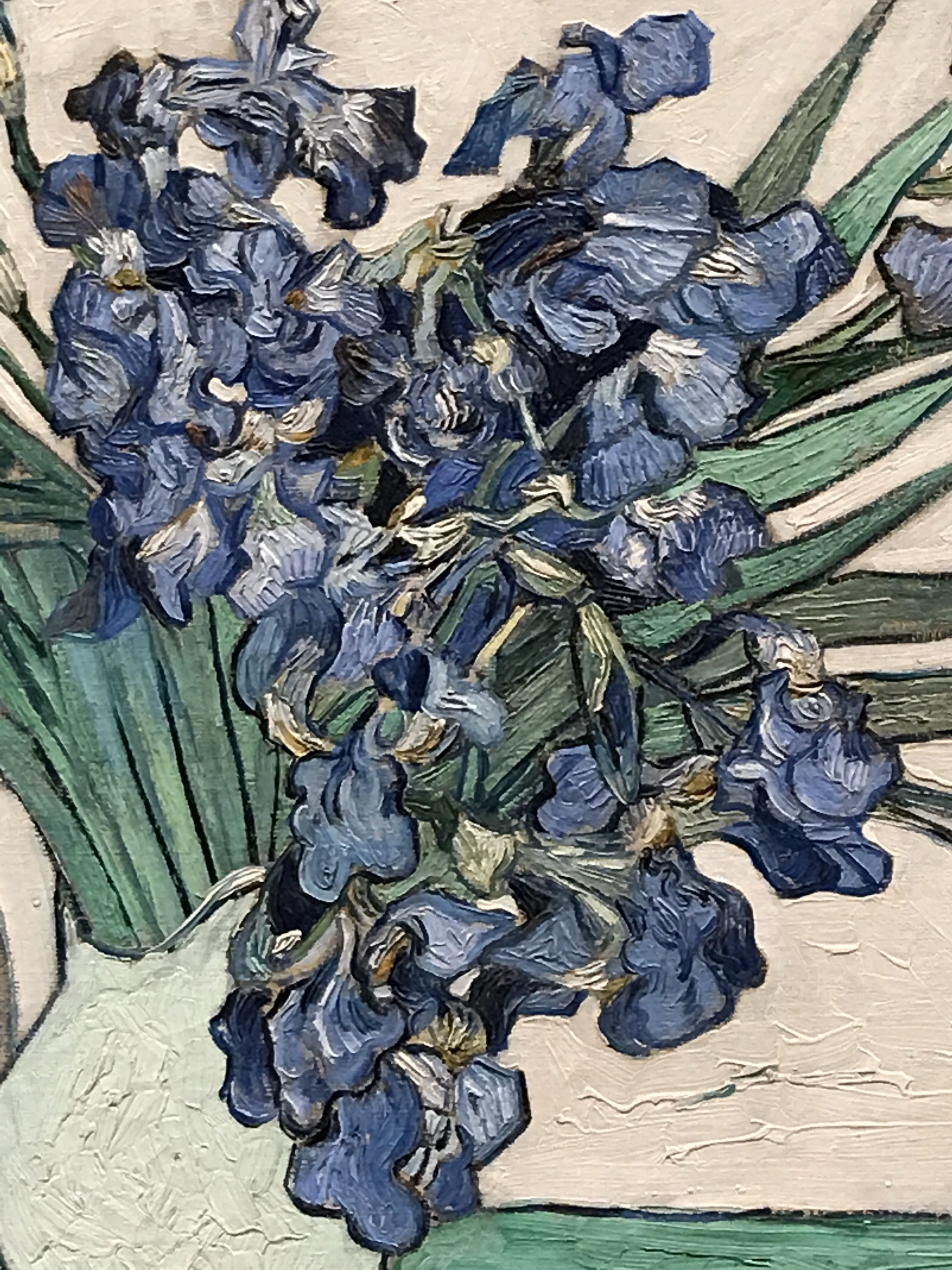 Irises By Vincent Van Gogh Zoomed In Detail Of The Irises I Love