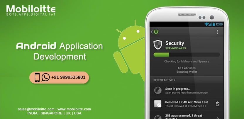 Want to develop an Android application with full security