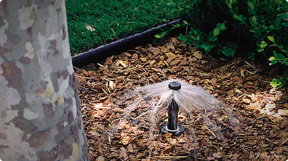 how to change hunter sprinkler nozzles