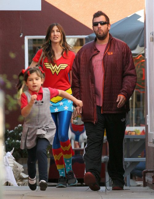 Adam Sandler & Family: Halloween Shoppers | Celebs in 2019