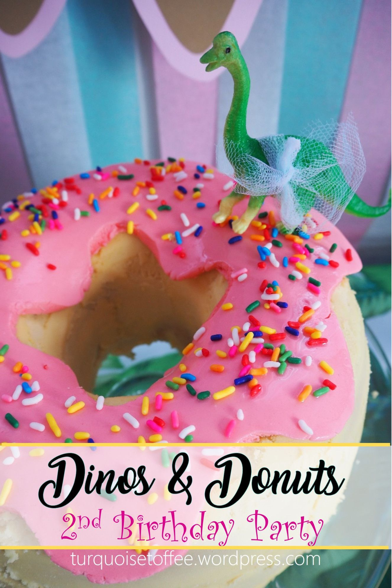 Dinos and Donuts 2nd Birthday Party for Baby J