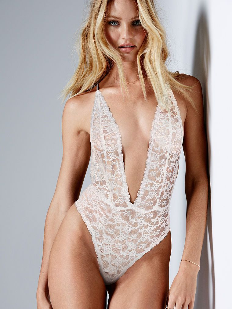 a5b21250ed2 Candice Swanepoel - Plunge Teddy - The Lacie - Victoria s Secret ...